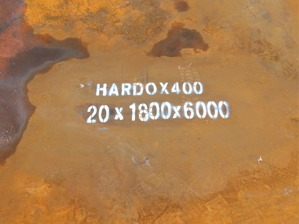High property of HARDOX400 steel plate wear-resistant structural